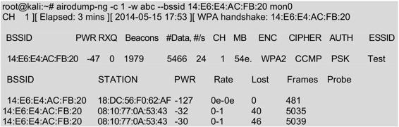 使用Aircrack-ng工具破解无线网络之-破解WPA/WPA2无线网络