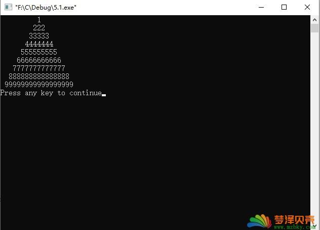C程序设计【每日一个小程序案例5】使用c语言输出九九乘法表,使用c语言输出数字金字塔,c语言输出*号金字塔