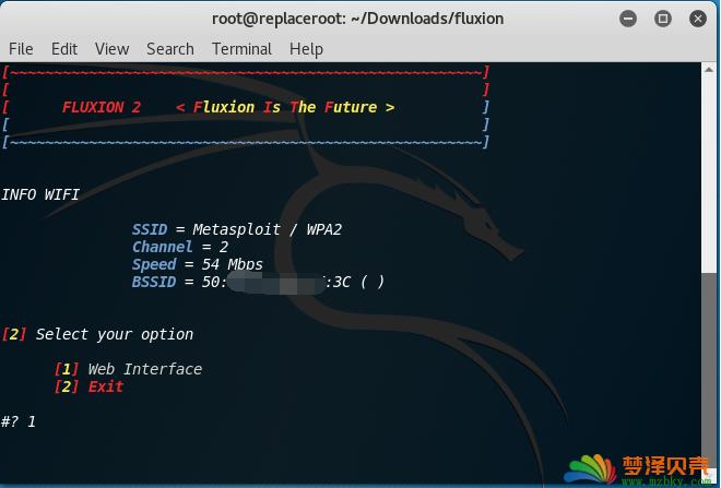 利用Fluxion破解WiFi简单方法俗称WiFi钓鱼之fluxion使用方法