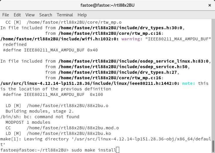 Ubuntu linux5.3内核,及其树莓派(Raspberry Pi)安装RTL8812 usb无线网卡