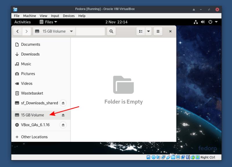 如何在 VirtualBox 中安装 Fedora