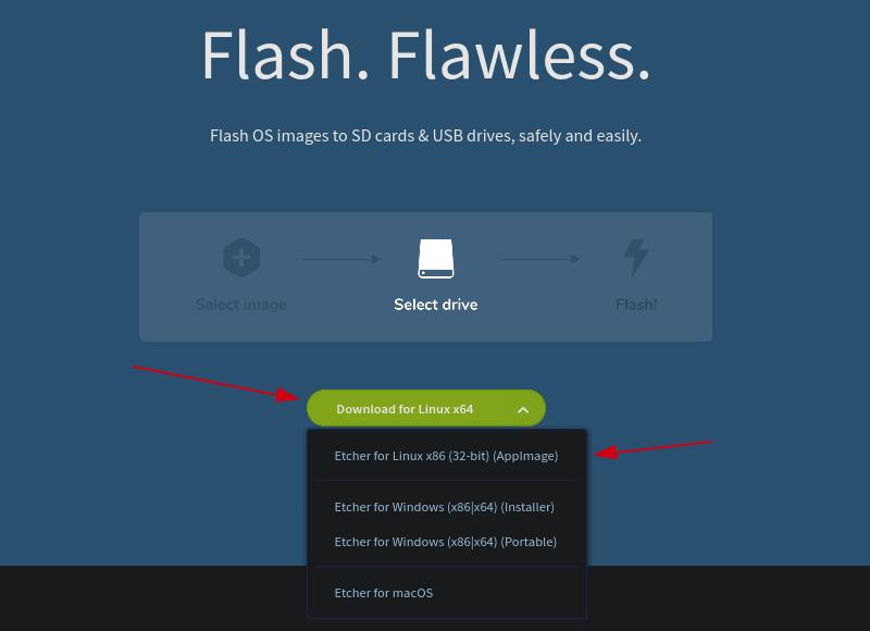 如何在 Linux 上安装和使用 Etcher 来制作 Linux 临场 USB