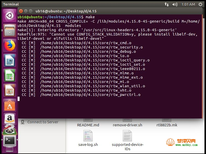 Ubuntu18.04安装USB网卡驱动教程-RTL8812